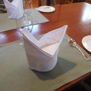 テーブル装飾はシンプル|415193さんの仏蘭西舎すいぎょくの写真(276157)