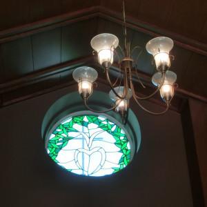 さりげなくて可愛いステンドグラス|416889さんのヴィラ・デ・マリアージュ軽井澤の写真(281913)