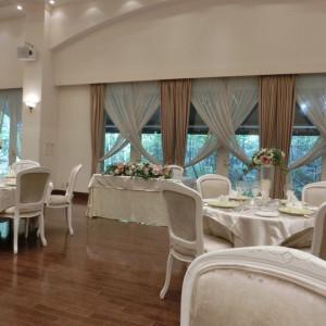 フェアのテーブルコーディネート|416889さんのヴィラ・デ・マリアージュ軽井澤の写真(281937)