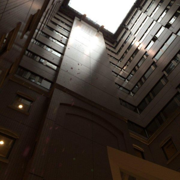 チャペルから見える天井
