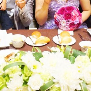テーブルコーディネート|419147さんのルクリアモーレ表参道の写真(291623)