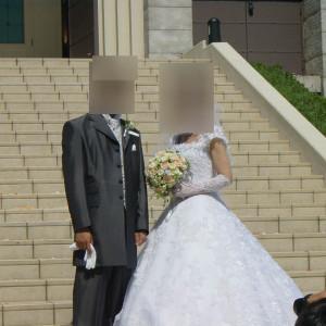 大階段で|419280さんの岡山国際ホテルの写真(363772)