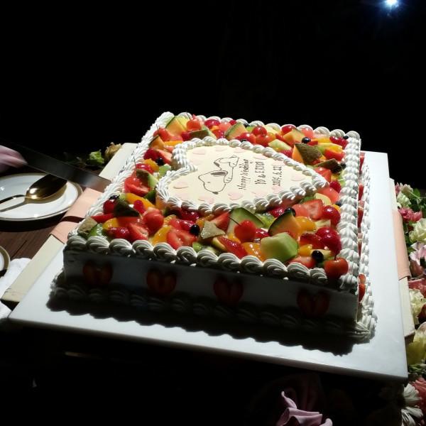 ケーキがかわいらしくコンセプトがはっきりしてた。