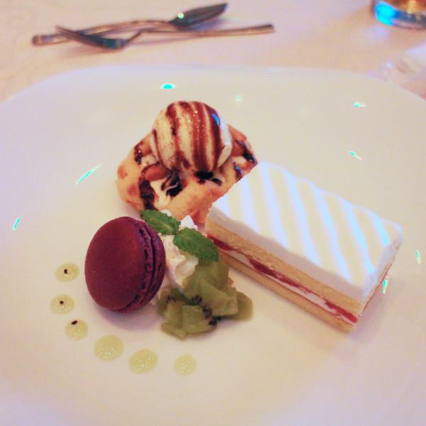 シンプルなケーキが美味しかったです。