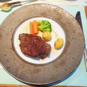 牛フィレ肉のステーキ 419809さんの八王子農園の写真(294221)