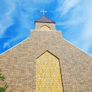 チャペルの外観と十字架|420546さんのプレシャスガーデン セントクロワールの写真(299391)
