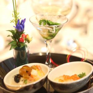 美しい盛り付けの前菜|428256さんのエクシブ京都 八瀬離宮の写真(321120)