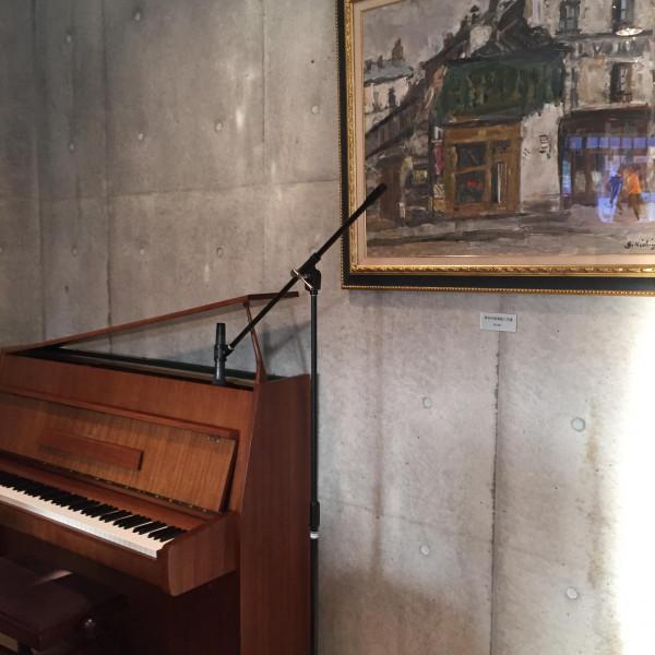 ピアノを使った余興が素敵でした
