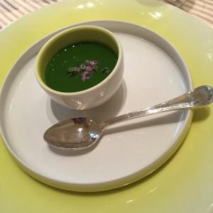 野菜のジュレ?スープ?美味しい|431732さんのヴィラ・デ・マリアージュ 太田の写真(331629)