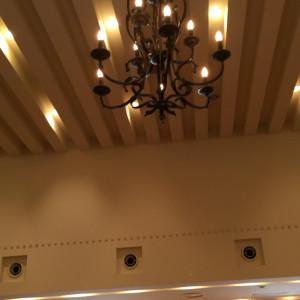 シックでオシャレなシャンデリア|433358さんのヴィラ・デ・マリアージュ 宇都宮の写真(344946)