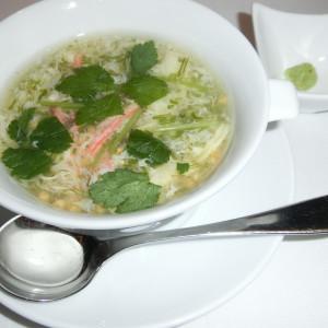 中華スープ|436379さんのDESTINO BROOKLYN NEW YORK(ディスティーノ ブルックリン ニューヨーク)の写真(350042)