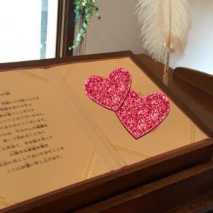 人前式の署名の演出も素敵でした!|439066さんの小さな結婚式 小樽店の写真(363253)