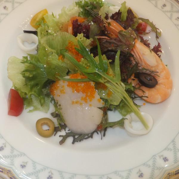 お野菜 色とりどりで見栄えもよく美味しかったです。
