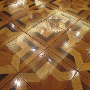 綺麗な寄木細工の床|441055さんのアルカーサル迎賓館川越の写真(372014)