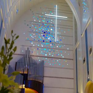 青い挙式会場 441442さんのノートルダム盛岡の写真(372856)