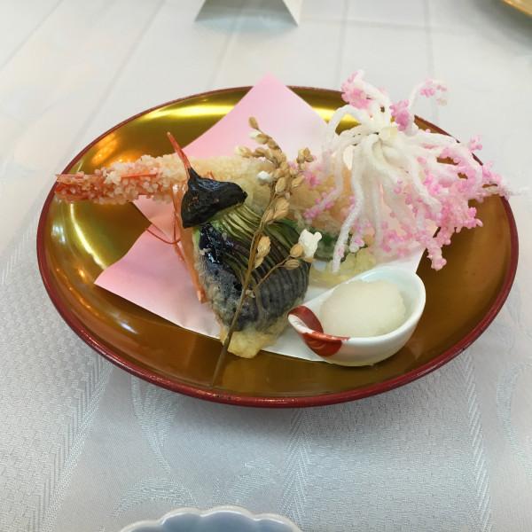 天ぷら料理です