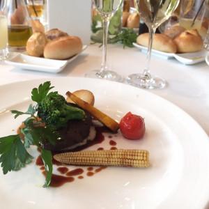 コースのメイン料理|450679さんのAMANDAN SKY ~アマンダンスカイ~の写真(402351)