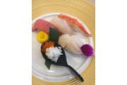 握りたての寿司(試食)