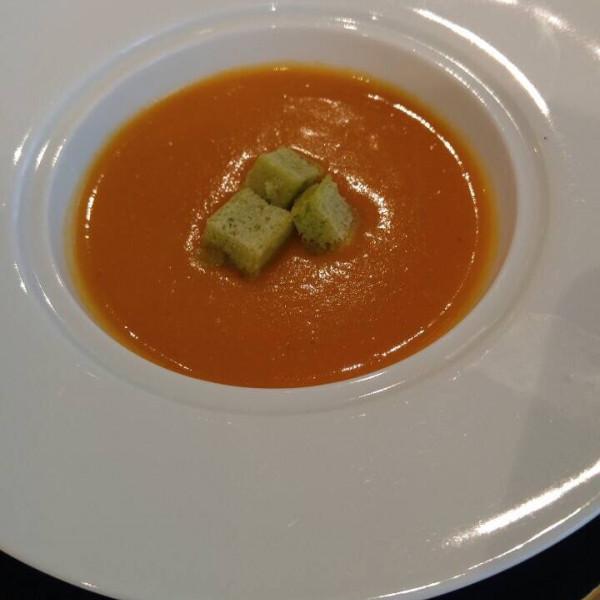濃厚な野菜スープ