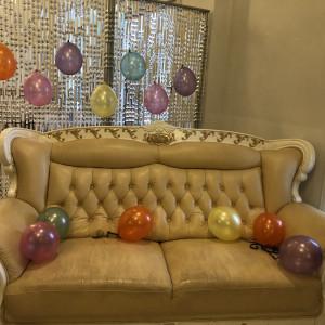 待合室の、椅子に飾るスペースがあります。 461493さんのSt. GRAVISS(セントグラビス)の写真(658820)