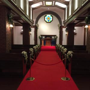 チャペル|462192さんの小さな結婚式 小樽店の写真(441762)