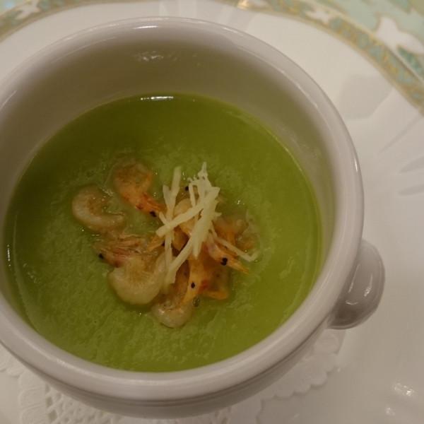 フルコース試食会のスープで、素晴らしかったです。