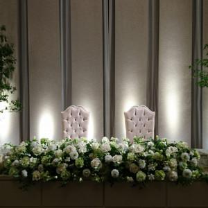 メインテーブル|464912さんのホテルコンコルド浜松の写真(446373)