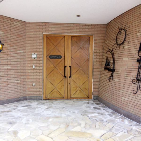 チャペル入口