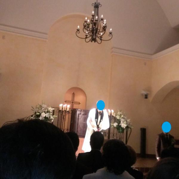 挙式時の神父の説教