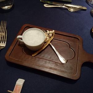 カフェのようなスープ|468453さんの東京マリオットホテルの写真(719087)