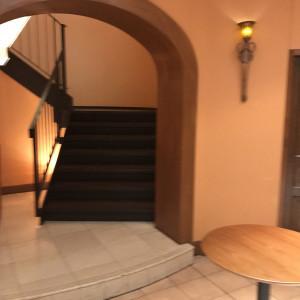 1階で受付、二階が挙式会場|468905さんのヴィラ・デ・マリアージュさいたまの写真(461248)