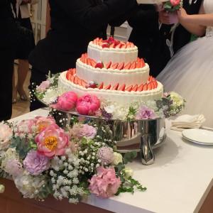 ウエディングケーキ 469044さんのアーヴェリール迎賓館(岡山)の写真(601130)