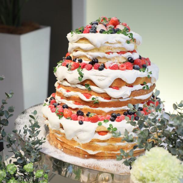 イメージだけで作ってもらったケーキの完成度が◎!