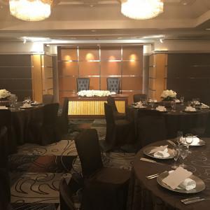 大人っぽく演出できる披露宴会場|470561さんのHOTEL NEW OTANI HAKATA (ホテルニューオータニ博多)の写真(462125)