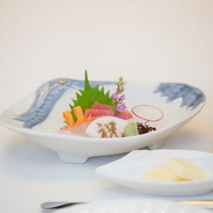 お刺身も大変美味しかったです|471081さんのホテルハーヴェスト旧軽井沢の写真(566747)