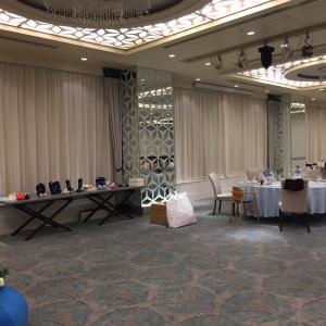 結婚式前日のセッティング|471632さんのANAクラウンプラザホテル岡山の写真(658093)