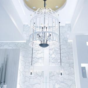チャペルの可愛らしい飾り|471667さんのHOTEL NEW OTANI HAKATA (ホテルニューオータニ博多)の写真(475228)