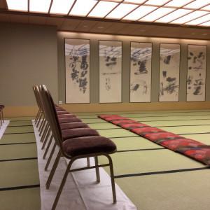 控室です。ここで両家顔合わせもしました。|471827さんのホテル ライフォート札幌の写真(472561)