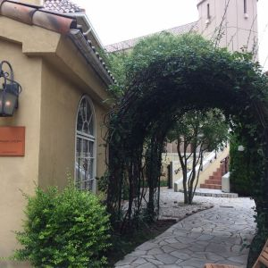 一番のお気に入りのアーチ。花を飾るか、写真を飾るか…|472610さんのヴィラ・デ・マリアージュさいたまの写真(490640)