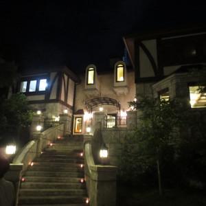 夜はいい雰囲気に|473181さんの森の邸宅彩音の写真(497049)