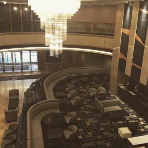上から見たロビー|474275さんのホテルメトロポリタン山形の写真(583984)