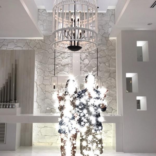 綺麗な白で統一されており、明るく神聖な印象です。
