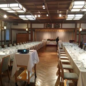 会場|475843さんの日光金谷ホテルの写真(548996)