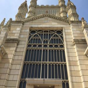 正面|477399さんのアビー・ラ・トゥール教会(ウエディングセントラルパーク)の写真(487132)