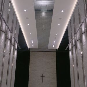 天井も高く、一部が鏡張りになっていて更に解放感がありました。|477403さんのPLEIAS OTA(プレイアス太田)の写真(555336)