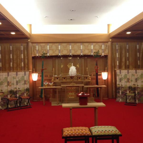 神前式結婚式場