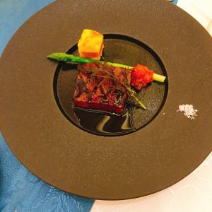 お肉料理。お塩で味が調整できてよかった|478749さんのエール フォルトゥーナの写真(619697)
