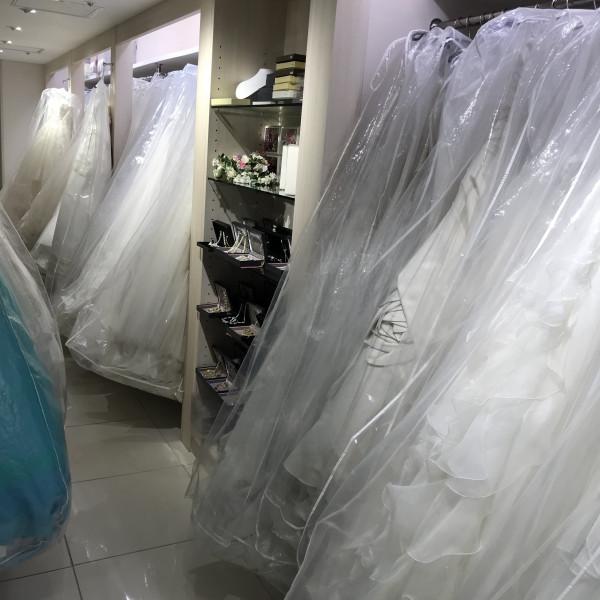 ドレスショップ併設ウェディングドレス