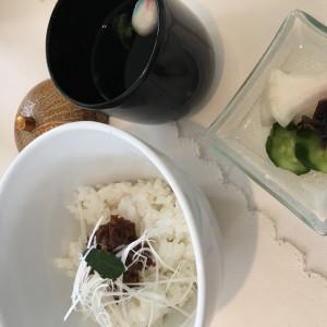 ご飯とお吸い物|479130さんのリッツガーデンハウスアヴェニューの写真(522424)