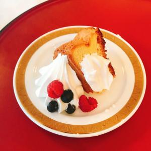 ケーキはシフォンケーキでした 479242さんの山の上ホテル  -HILLTOP HOTEL-の写真(571683)